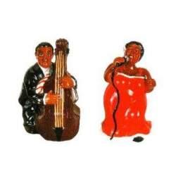 Salière et poivrier Jazz