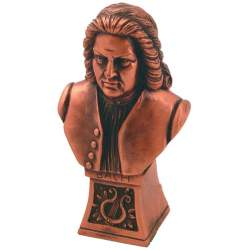 Buste en bronze de Bach
