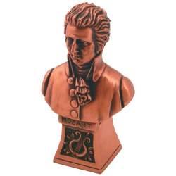 Mozart bronzen borstbeeld