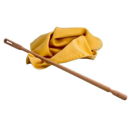 Ecouvillon Helin 4630 pour flûte traversière (bois + loque)