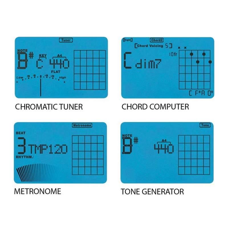 Boston Btu 1000 Guitar Tunermetronomechord Dictionnary At Bd Music