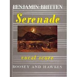 B. Britten - Serenade, Vocal score