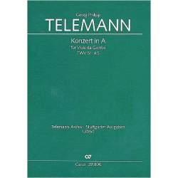 Concerto la majeur - Telemann