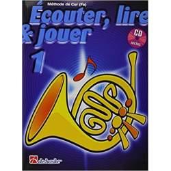Ecouter, lire & jouer cor (fa) 1