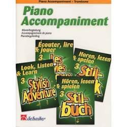 Ecouter, lire et jouer - les styles musicaux piano - trombone
