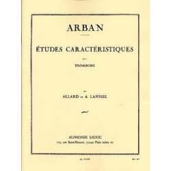Arban - Etudes caractéristiques pour trombone