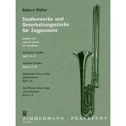Müller - Etudes techniques pour trombone