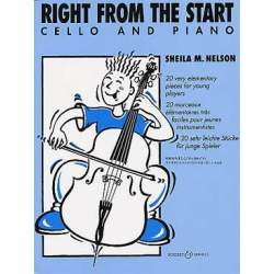 Nelson - Right from the start pour violoncelle
