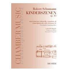 Schumann - Scène d'enfants pour violoncelle et piano