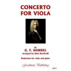 Handel - Concerto pour alto et piano