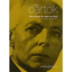 Bartok - Concerto pour alto