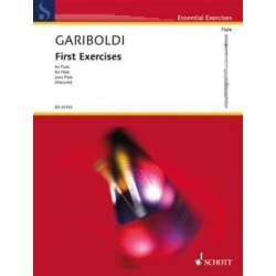 Gariboldi - First exercises pour flûte