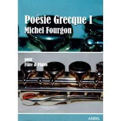 Fourgon - Poésie grecque I pour flûte et piano