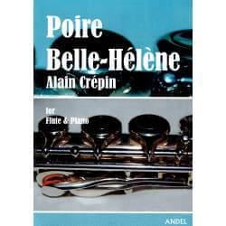 Crepin - Poire Belle-Hélène pour flûte et piano