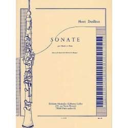 Dutilleux - Sonate pour hautbois et piano