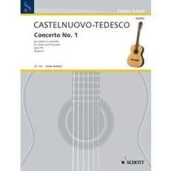 Castelunovo-Tedesco - Concerto n°1 op.99 pour guitare et piano