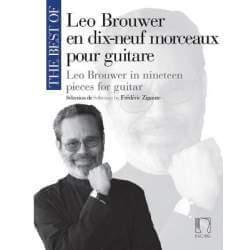 Brouwer - Dix-neuf morceaux pour guitare