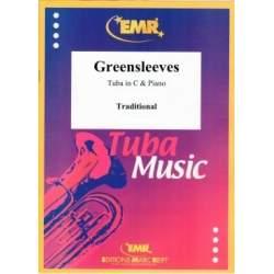 Greensleeves pour tuba et piano