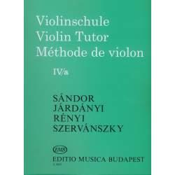 Sandor Méthode de violon IV/a