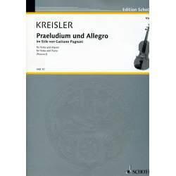 Kreisler - Praeludium et allegro pour alto et piano