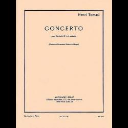 Tomasi - Concerto pour clarinette sib et piano