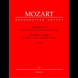 Mozart - Quintette en la majeur pour quatuor et clarinette KV581
