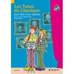 Les tubes du classique pour flûte à bec soprano