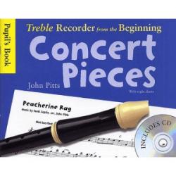 Pitts - Concert pieces pour flûte à bec