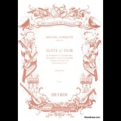 Corrette - Suite en do majeur pour flûte à bec alto