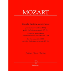Mozart - Grand sextuor concertant