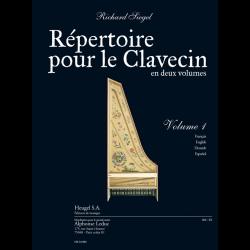 Siegel - Répertoire pour clavecin