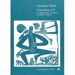 Tartini - Concertino en fa pour flûte à bec alto et piano