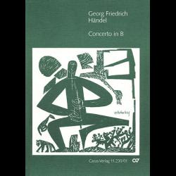 Händel - Concerto en sib majeur pour flûte à bec sopranino et piano