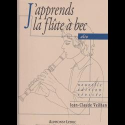 Veilhan - J'apprends la flûte à bec alto