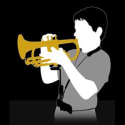 "Magilanck ""BodyStand"" pour trompette/cornet"