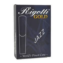 Anches Rigotti Gold Jazz sax ténor