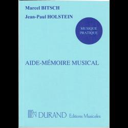 Bitsch - Aide-Mémoire Musical (in frans)