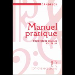 Dandelot - Manuel pratique pour l'étude des clés de sol fa ut