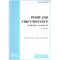Elgar - Pomp and Circumstance pour orgue