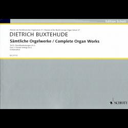 Buxtehude - Œuvres Complètes Vol 3 pour orgue