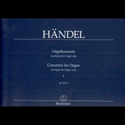 Händel - Concertos pour Orgue