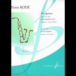 Rode - 24 Caprices pour sax