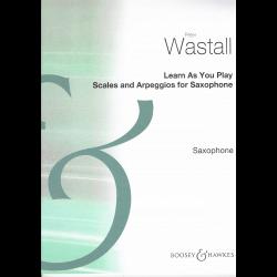 Wastall - Gammes et Arpèges pour sax
