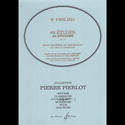 Ferling - 48 études op.31 pour hautbois ou saxophone