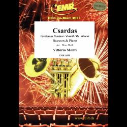 Monti - Csardas (version en ré mineur) pour basson et piano