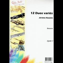 Naulais - 12 duos variés pour bassons