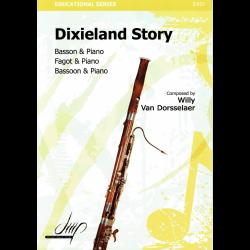 Van Dorsselaer - Dixieland story pour basson et piano