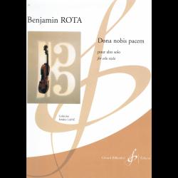 Rota - Dona nobis pacem voor altviool