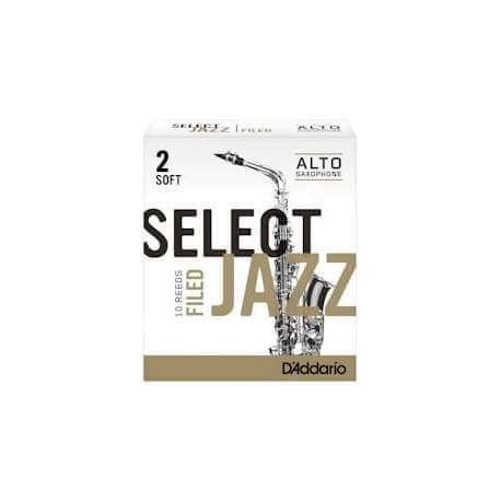 Anches D'addario Select Jazz pour sax alto