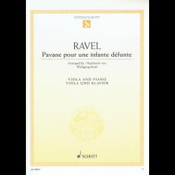 Ravel - Pavane pour une infante défunte pour alto et piano